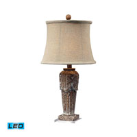 Dimond Lighting Papillion 1 Light Table Lamp in Corbel 93-10025-LED
