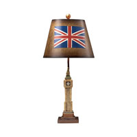 Dimond Lighting Rushville 1 Light Table Lamp in Laird 93-10032