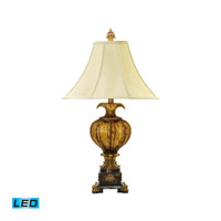 Dimond Lighting Leaf Footed Urn 1 Light Table Lamp 93-449-LED