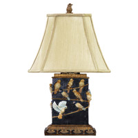Dimond Lighting 93-530 Bird On Branch 20 inch 40 watt Table Lamp Portable Light in Incandescent photo thumbnail