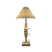 Dimond Lighting Fishing Lure 1 Light Table Lamp 93-704