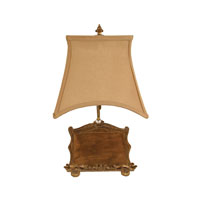 Dimond Lighting Illuminated Wood 1 Light Table Lamp 93-784 photo thumbnail