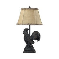 Dimond Lighting Braysford 1 Light Table Lamp in Braysford Black 93-91391