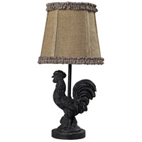 Dimond Lighting Braysford 1 Light Mini Lamp in Braysford Black 93-91392