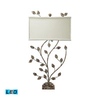 Dimond Lighting Tisserland 2 Light Table Lamp in Vernonburg Gold 93-9154-LED photo thumbnail