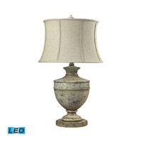 Dimond Lighting Roberval 1 Light Table Lamp in Avignon 93-9156-LED