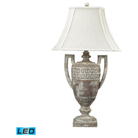 Dimond Lighting Greek Key 1 Light Table Lamp in Allesandria 93-9197-LED