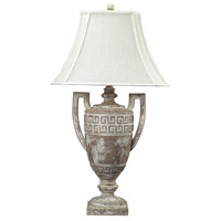 Dimond Lighting 93-9197 Greek Key 34 inch 150 watt Allesandria Table Lamp Portable Light in Incandescent photo thumbnail