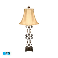 Dimond Lighting Ernesto Scroll 1 Light Table Lamp 97-703-LED