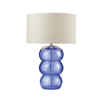 Dimond Lighting Ring 1 Light Table Lamp in Cobalt Blue 979006