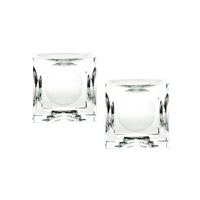 Signature Clear Crystal Cubes