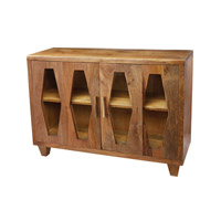 Dimond Home Retro Diamond Cabinet in Natural Mango Mango Wood 985-005