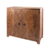 Lazy Susan by Dimond Lighting Nail Head Chest in Natural Mango and Bronze Nail Head Mango Wood 985-032
