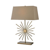 Dimond Lighting Springtown 1 Light Table Lamp in Antique Brass D2417