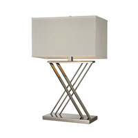 Dimond Lighting Blingen 1 Light Table Lamp in Polished Nickel D2419