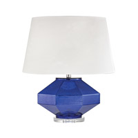Dimond Lighting HGTV341 Guild 23 inch 150 watt Mercury Sapphire Table Lamp Portable Light