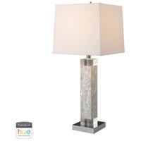 Dimond Lighting D1412-HUE-B Luzerne 32 inch 60 watt Mother of Pearl Table Lamp Portable Light