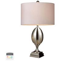 Dimond Lighting D1426W-HUE-B Waverly 28 inch 60 watt Chrome Table Lamp Portable Light