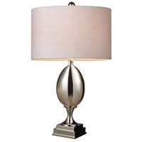 Waverly 28 inch 150 watt Chrome Plated Glass Table Lamp Portable Light in Incandescent