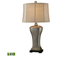 Dimond Lighting Trump Home Westchester Lexington 1 Light Table Lamp in Silver Lake D1431-LED