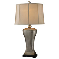 Dimond Trump Home Lexington 1 Light Table Lamp in Silver Lake D1431