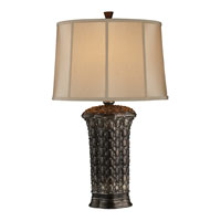Dimond Norwood Table Lamp in Canby with Oval Oyster Faux Silk Fabric Shade and Cream Liner D1439 photo thumbnail