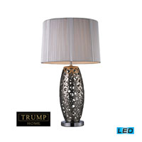 Varick 27 inch 13.5 watt Alisa Silver Table Lamp Portable Light