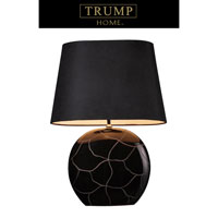 Dimond Trump Home Lenox Square 1 Light Table Lamp in Gloss Black D1453