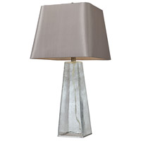 Signature 30 inch 9.5 watt Clear Table Lamp Portable Light in LED