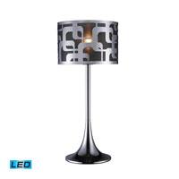 Dimond Lighting Blawnox 1 Light Table Lamp in Chrome D1463-LED