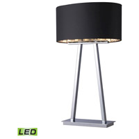 Dimond Lighting Trump Home Central Park Empire 2 Light Table Lamp in Chrome D1479-LED