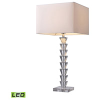 Dimond Lighting Trump Home Central Park Fifth Avenue 1 Light Table Lamp in Clear Crystal D1482-LED