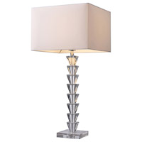 Dimond Trump Home Fifth Avenue 1 Light Table Lamp in Clear Crystal D1482