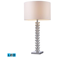 Dimond Lighting D1483-LED Modena 30 inch 13.5 watt Clear Crystal Table Lamp Portable Light in LED