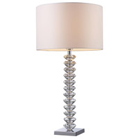 Dimond Modena 1 Light Table Lamp in Clear Crystal D1483