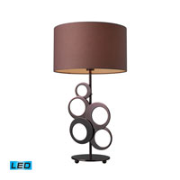 Dimond Lighting Addison 1 Light Table Lamp in Chocolate Plating D1484-LED photo thumbnail
