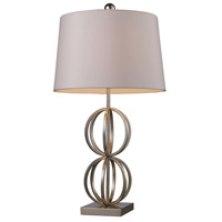 Dimond Donora 1 Light Table Lamp in Silver Leaf D1494