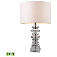 Dimond Lighting Trump Home Central Park Madison 1 Light Table Lamp in Clear Crystal D1512-LED