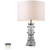 Dimond Lighting D1512-HUE-B Madison 23 inch 60 watt Clear Crystal Table Lamp Portable Light