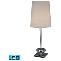 Dimond Lighting Sayre 1 Light Table Lamp in Chrome D1516-LED