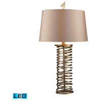 Dimond Lighting D1519-LED Westberg Moor 29 inch 13.5 watt Santa Fe Muted Gold Table Lamp Portable Light in LED