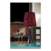 Dimond Cressona 1 Light Table Lamp in Black Berry D1591 alternative photo thumbnail