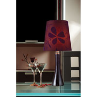 Dimond Lighting D1591 Cressona 25 inch 100 watt Black Berry Table Lamp Portable Light alternative photo thumbnail