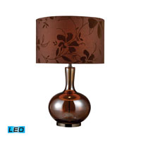 Dimond Lighting Fairview 1 Light Table Lamp in Bronze And Coffee Plating D1603-LED