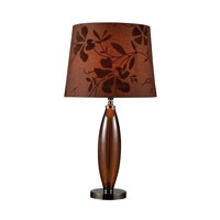 Dimond Fairview 1 Light Table Lamp in Bronze and Coffee Plating D1604