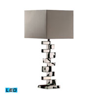 Dimond Lighting Emmaus 1 Light Table Lamp in Chrome D1619-LED