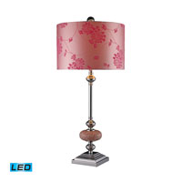 Dimond Lighting Lauren 1 Light Table Lamp in Chrome D1711-LED