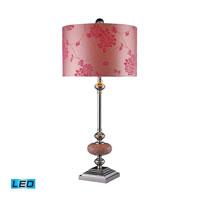 Dimond Lighting Lauren 1 Light Table Lamp in Chrome D1711-LED