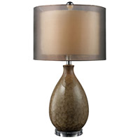 Dimond Brockhurst 1 Light Table Lamp in Francis Fawn D1717