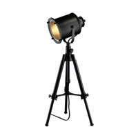 Dimond Lighting Ethan 1 Light LED Table Lamp in Restoration Black D1734-LED